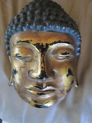 Antique Chinese wall mask