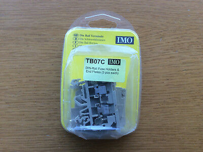 IMO Din-Rail TB07C Fuse Holders & End Plates, Electrical Control Gear