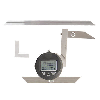 "High Precision Digital Protractor 360° Goniometer, 30""/ 0.008 Resolution"