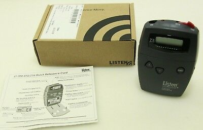 Listen Technologies LT-700 Portable Display RF Transmitter (72 MHz)  LT-700-072