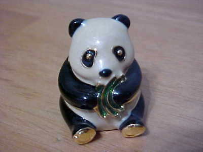 NEW/Estee Lauder Knowing Panda Bear Solid Perfume Compact/POUCH NO BOX