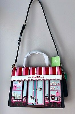 Collector's Bag NWT Kate Spade MA CHERIE CAFE SATCHEL Top Handle Shoulder Bag