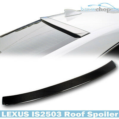 STOCK IN USA ▶ Carbon Fiber LEXUS IS250 IS300 4DR D-Style 14 Roof Spoiler Wing