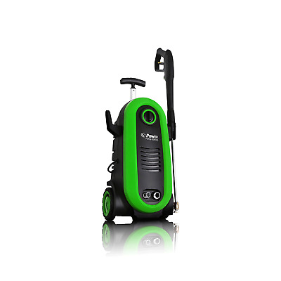 Bloom USA 2200 PSI 1.76 GPM 14.5 Amps Electric Pressure Power Washer, Green
