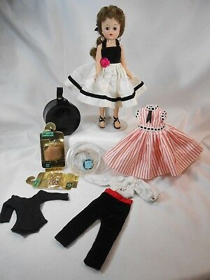 Vintage 1950's Vogue JILL Lot w/Doll, Clothes, Accessories
