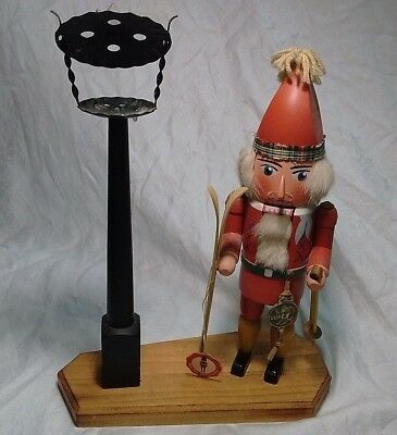 Vintage West German Handarbeit Hand Made Nutcracker (Matthes Nubknacker) With Ta