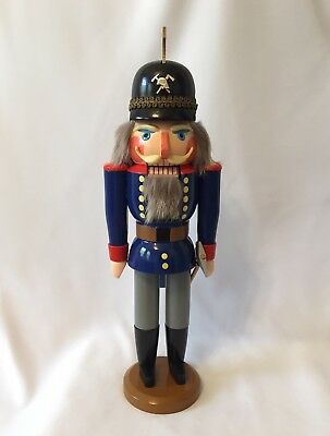 Erzgebirge Nutcracker Mountain Miner Vintage Collectible - Expertic Brand - 16""
