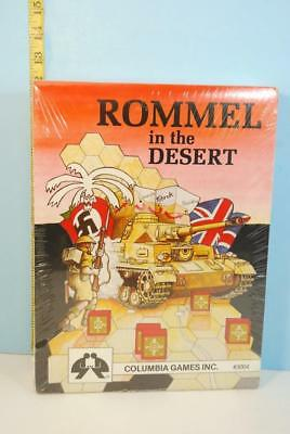 Rommel in the Desert First Red Box Cover Columbia Games 2nd Print 1984 SHRINK