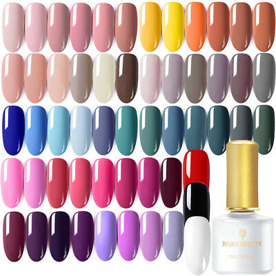 BORN PRETTY 6ml Gel UV de Uñas Esmalte de Uñas Soak off Nail Art UV Gel Polish