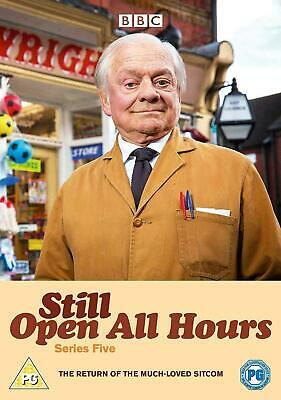 Still Open All Hours Season 5 Series Five Fifth New DVD + Christmas Special