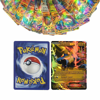 60PCS EX Flash Mega/Basic Cards Album Book List Pokemon Card 14 Piece Pages
