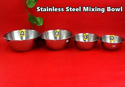 High Quality Stainless Steel Mixing Bowl Catering Stirring (for meat) 4 sizes