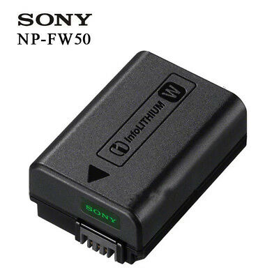 Genuine Original Sony NP-FW50 Battery For Sony NEX3 NEX-5 NEX-3 A55 A33 BC-VW1