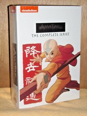 Avatar: The Last Airbender: The Complete Series (DVD, 2015, 16-Disc Set) NEW