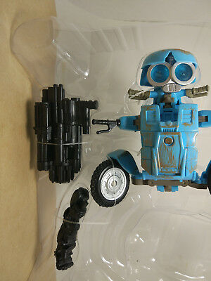 TRANSFORMERS movi5 THE LAST KNIGHT DELUXE AUTOBOT SQWEEKS without Trailer