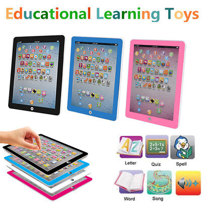 Kids Children TABLET MINI PAD Educational Learning Toys For Boys Girls Baby
