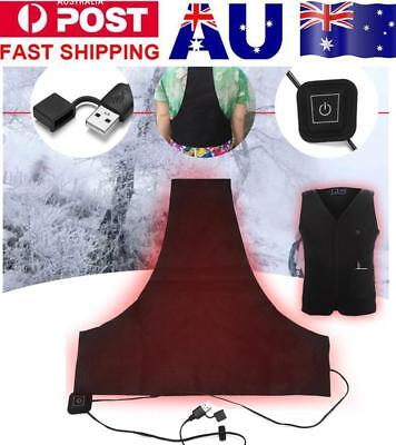 USB Electric Heating Pad 3 Gear Adjustable  Thermal Clothing Heated Jacket Vest