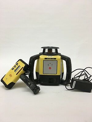 Leica Rugby 610 rotating laser with Rod Eye Plus Detector