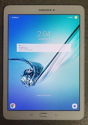 "Samsung Galaxy Tab S2 SM-T817V 9.7"" 32GB WiFi 4G LTE Verizon Tablet eBook Reader"