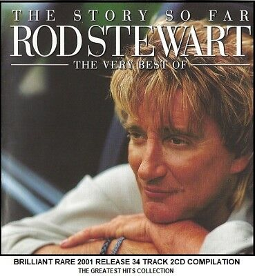Rod Stewart The Very Best Greatest Hits Collection RARE 2001 2CD 70's 80's 90's