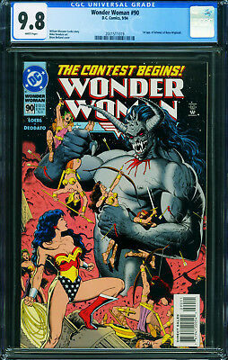 WONDER WOMAN #90 CGC 9.8 DC 1st of Artemis 2001511019