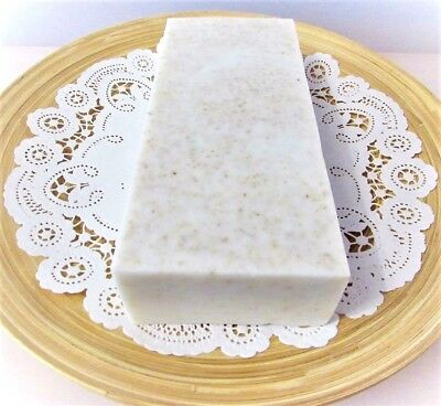 Choose your Scent THREE SOAP LOAVES  2lb  HANDMADE GOAT MILK OATMEAL SOAP LOAF