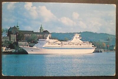 ms Song of Norway . Royal Caribbean Cruise Line Ship Ocean Liner Boat Oslo RCCL