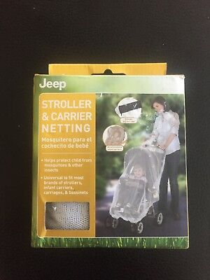 Jeep Stroller And Carrier Netting-(new) Universal white