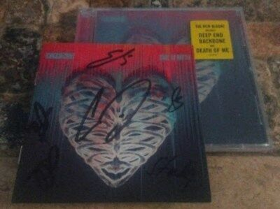Autographed Signed Daughtry Cage to Rattle CD