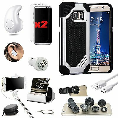 11 x Accessory Case Charger Wireless Headset Monopod Lens For Samsung Galaxy S8