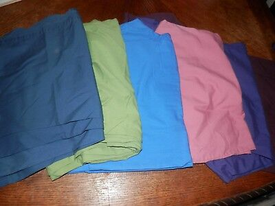Lot of 5 Scrub Bottoms, Size 2XL, Gathered and Drawstring Waist, Pre Owned