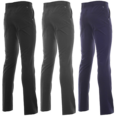 Callaway Thermal 5 Pocket Water Resistant Winter Golf Trousers / New For 2019 !!