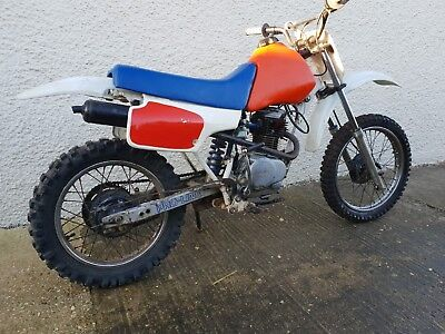 HONDA XR80R 1987 off road project bike running riding spares repairs project.