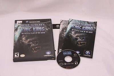 Nintendo Gamecube -  Peter Jacksons King Kong: The Official Game - Complete