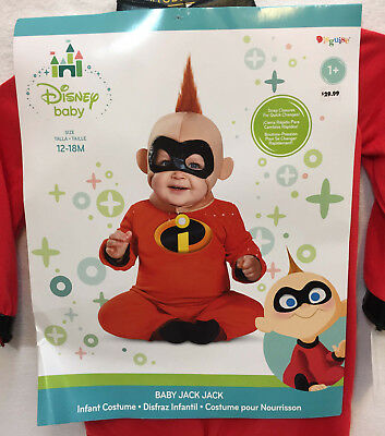 c09665d6cba Baby Jack Jack Halloween Costume The Incredibles Size 12 - 18 Months Outfit