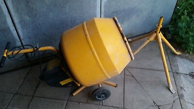 master mix mc 130 240 cement mixer used 3 times