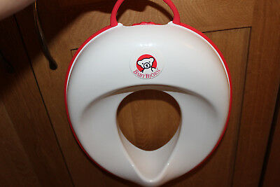 BabyBjorn Toilet Trainer White and Red