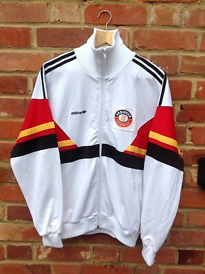 Track Spellout 90S Top Tracksuit Adidas Vintage Medium Size Rare Jacket 80S taqvx