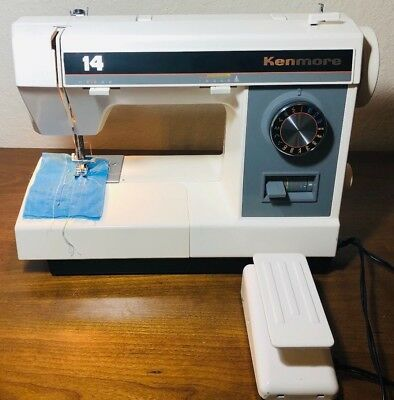 Vintage Kenmore 158.1450280 Sewing machine TESTED and works
