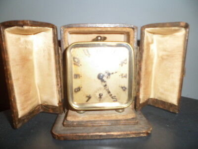art deco french clock boxed  alarm clock