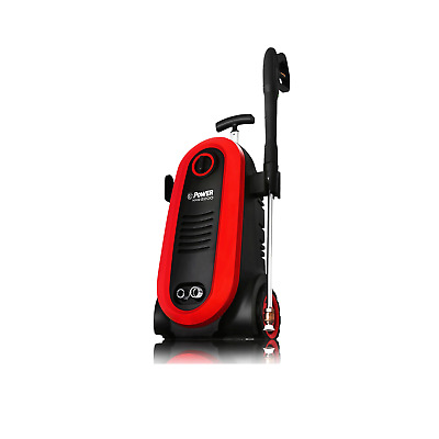 Bloom USA 2200 PSI 1.76 GPM 14.5 Amp Electric Pressure Power Washer System, Red