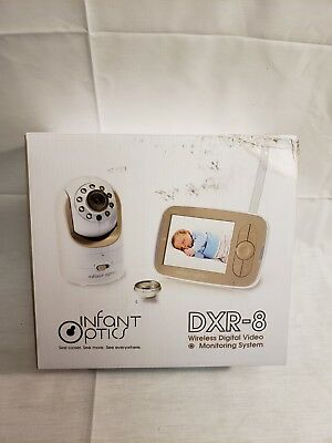 Infant Optics Dxr-8 Video Baby Monitor With Interchangeable Optical Lens New!