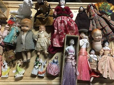 Antique Dolls lot: Unique, rare collection owned by former antiques dealer