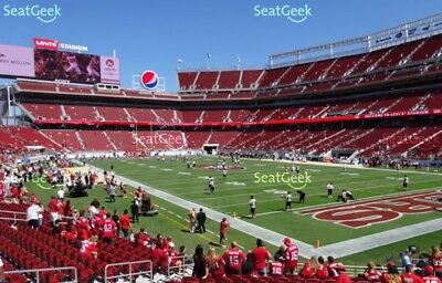 49ers vs.Chicago Bears. 12/23/2018  Great Seats!!!