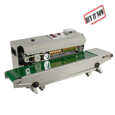 PLASTIC BAG CONTINUOUS Band Sealer Automatic Sealing Machine 110V 500W