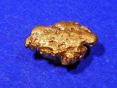 One Sparkling Australian Gold Nugget ( 0.54 grams ).