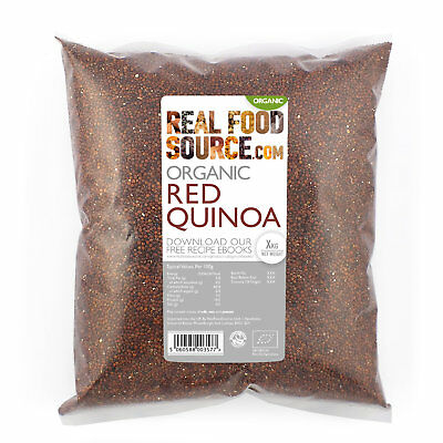 RealFoodSource - Organic Red Quinoa 1kg