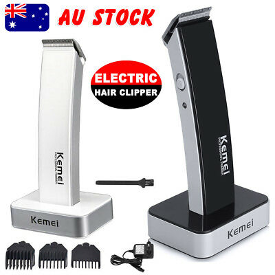 Electric Rechargable Cordless Beard Hair Cut Clippers Trimmer Shaver Razor Comb