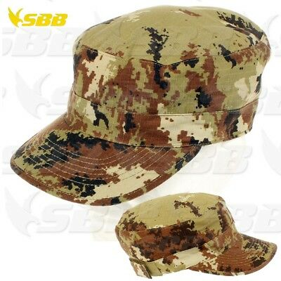 Cappello Berretto SBB Brancaleoni Esercito Italiano Militare Softair  Vegetato IT 7c6a42257b50