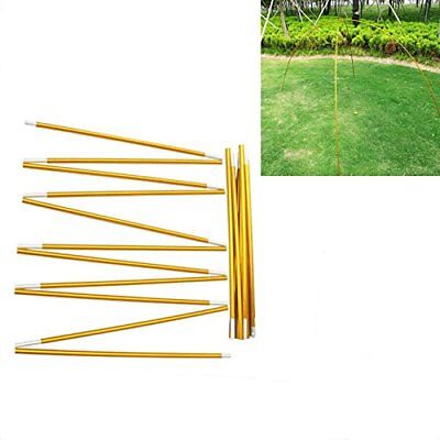 Postes para Tiendas Tent Poles Rod Tent Stakes Aluminio Tent Stands for Camping